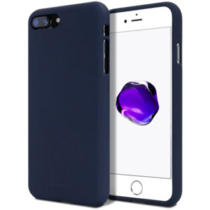 Jelly case kryt Apple iPhone 7 – midnight blue