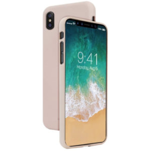 Jelly case kryt Apple iPhone X – pink sand