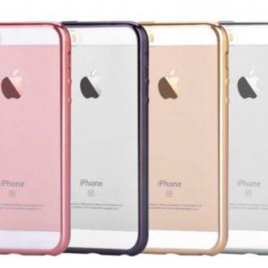 DEVIA kryt Glitter Soft pro Apple iPhone 5/5S/SE