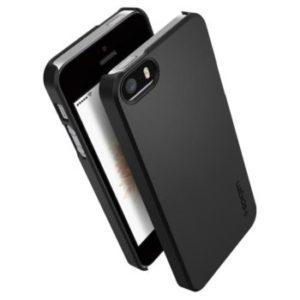 Spigen Thin Fit™ kryt pro Apple iPhone 5/5S/SE black
