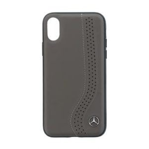 Mercedes Hard Case New Bow Walnut Brown pro iPhone X