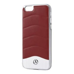 Mercedes Hard Case Wave III Aluminium Red pro iPhone 5/5S/SE