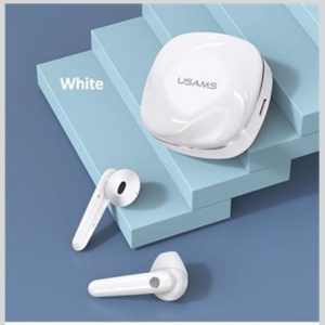 USAMS SD TWS Dual Stereo Wireless Headset BT 5.0 White