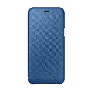 Originální Samsung Wallet Cover pouzdro Samsung  A6 2018 dark blue