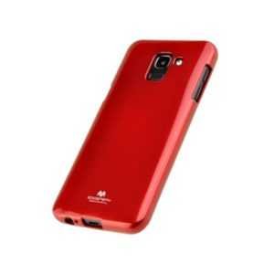 Goospery Jelly Case TPU silicone Samsung Galaxy A6 2018 red