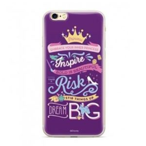 Disney Princess Back Cover Purple  Huawei Y5 2018