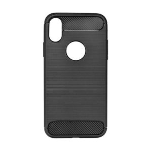 Carbon Fiber TPU kryt Huawei P Smart 2019 Black