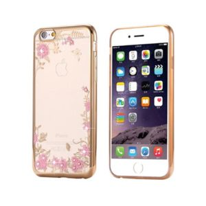 Back Case FLOWER – Huawei Y5 2018 zlatý