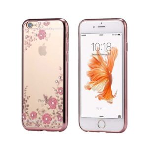 Back Case FLOWER – Huawei Y5 2018 rose Gold