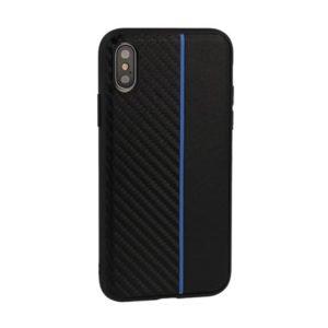 Moto Carbon Huawei Y5 Prime 2018 Černo-modré
