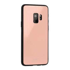 Kryt GLASS Huawei P20 Lite růžový