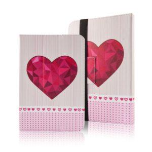 """GreenGo Fashion univerzální pouzdro na tablet Heart 7-8"""""""