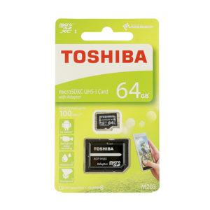 Toshiba UHS I MicroSDXC 64GB Class 10