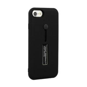 Vennus Ring Finger TPU kryt Huawei Y7 2018 Black