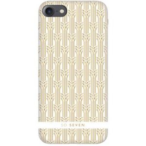 SoSeven Paris Case Arches iPhone 6/6S/7/8 White/Gold