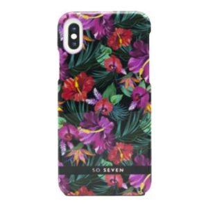 SoSeven Hawai Case Tropical zadní kryt iPhone X/XS Black