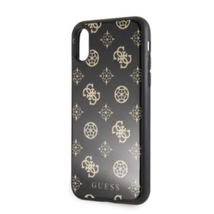 GUHCI8TGGPBK Guess Layer Glitter Peony Pouzdro iPhone 7/8 Black