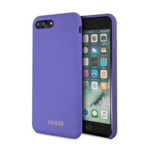 GUHCI8LLSGLUV Guess Silicone Logo TPU Case Purple pro iPhone 7/8