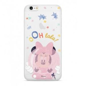 Pouzdro Disney Minnie 046 Transparent Huawei Y6 2018/Honor 7A