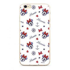 Disney Minnie 007 Zadní kryt pro Samsung J600 Galaxy J6 2018 White