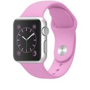Handodo Double Silikonový Pásek pro chytré hodinky iWatch 1/2/3 42mm pink