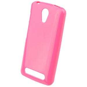 Pouzdro TPU myPhone Pocket Růžové