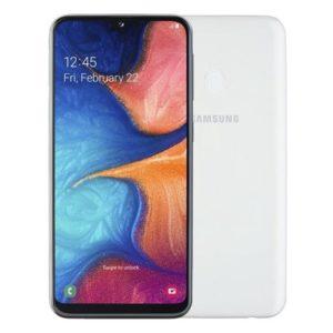 Samsung Galaxy A20e bílý