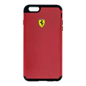 FESPHCP6LRE Ferrari ShockProof Kryt pro iPhone 6/6S Plus Red