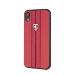 Pouzdro FEURHCI61REB Ferrari Off Track Hard iPhone XR red