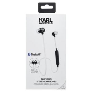 CGBTE07 Karl Lagerfeld Bluetooth Stereo Headset White