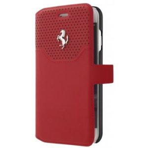 FEHOFLBKP7RE Ferrari Lusso Book Pouzdro pro iPhone 7/8 Red