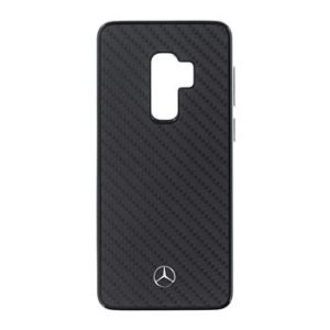 MEHCS9LRCABK Mercedes Hard Case Dynamic Carbon Black Samsung S9 Plus