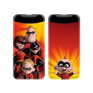 Disney Incredibles 001 PowerBank 6000mAh  Multicolor 2.1A