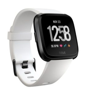 Fitbit Versa White Band / Black Case