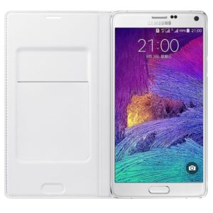 Pouzdro Samsung Galaxy Note 4 Original White