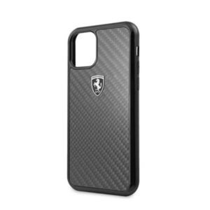FEHCAHCN65BK Ferrari Heritage Real Carbon Kryt pro iPhone 11 Pro Max