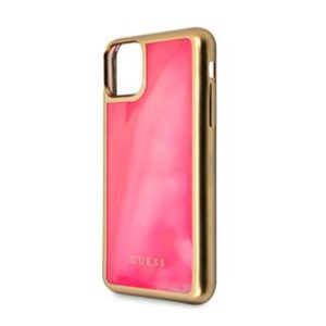 GUHCN65GLTRPI Guess Glow In The Dark Zadní Kryt pro iPhone 11 Pro Max Pink