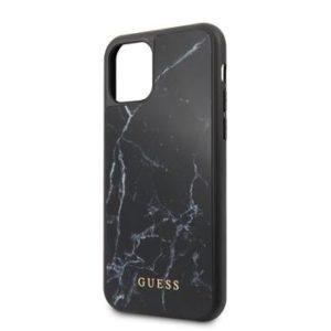 GUHCN58HYMABK Guess Marble Zadní Kryt pro iPhone 11 Pro Black