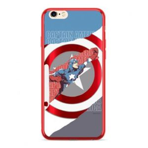 Pouzdro MARVEL Captain America 013 Huawei P20 Lite Red
