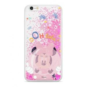 Disney Minnie 046 Glitter Back Cover Pink pro iPhone 7/8 Plus