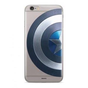 MARVEL Captain America 006 TPU zadní kryt iPhone 6/7/8 Transparent