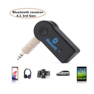 Tactical Bluetooth Receiver Jack 3,5mm Black