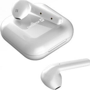 Swissten FlyPods True Wireless sluchátka bílá