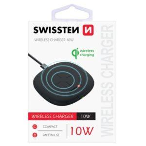 Swissten WIRELESS NABÍJEČKA 10W černá