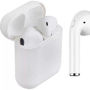 TWS inPods12 AirPods Bezdrátová sluchátka s dokovací stanicí Bluetooth 5.0. žluté