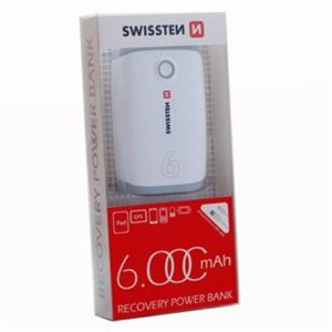 SWISSTEN RECOVERY POWER BANK 6000 mAh