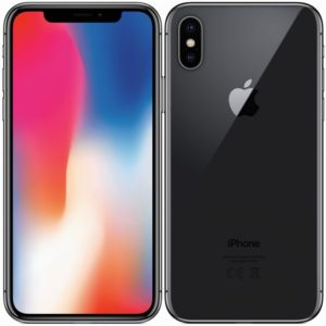 Apple iPhone X 256GB Black repasovaný