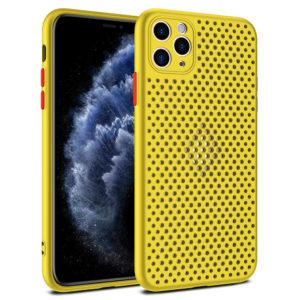 Zadní kryt iPhone 11 Pro Breath žlutý