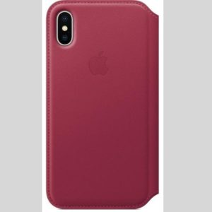 Original Pouzdro MQRX2ZM/A Apple iPhone X/XS  Cover Berry