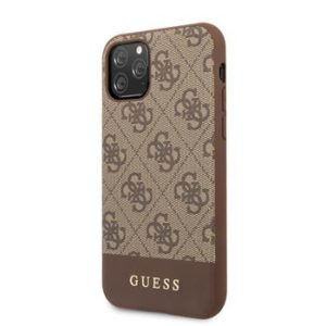 GUHCI8GF4GBR Guess Charms Hard Case 4G Brown pro iPhone 7/8/SE 2020
